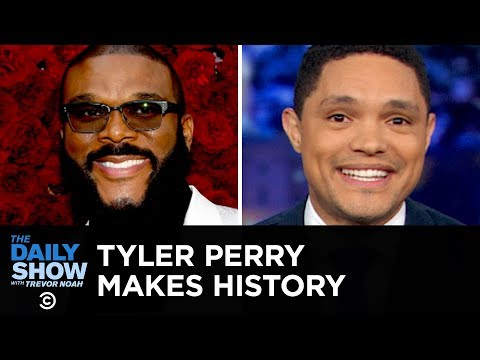 Tyler Perry's Film Studio, Jail Time for Missing Jury Duty & A Salon-Storming Deer | The Daily Show