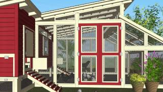 M105 - Chicken Coop Plans Construction - Chicken Coop Design - How To Build A Chicken Coop
