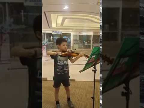 6 years old violinist