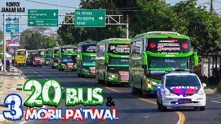 Download lagu KONVOI 20 BUS JAMAAH HAJI KABUPATEN KEDIRI (Pandawa 87, Pratama Putra dan Barokah Jaya)