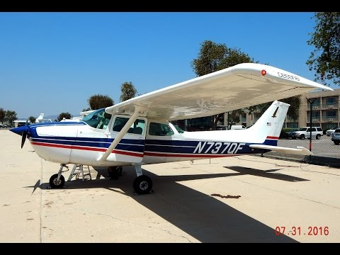 GoPro Flight Cessna 172 Departing Van Nuys to Malibu Coastline, California 2016