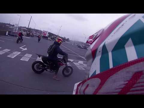 RENCONTRE AVEC MAXOUNE24 - RASSEMBLEMENT MOTO A PERIGUEUX - RUN - WHEELING