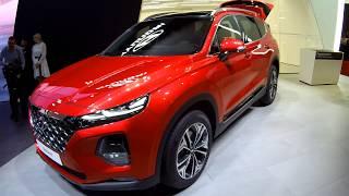 видео Новый Hyundai Santa Fe 2019 | фото, цена, характеристики