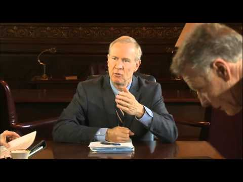 Gov. Bruce Rauner, leaders meet on Illinois state budget