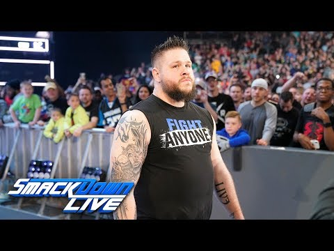 Kevin Owens returns and replaces Kofi Kingston at WWE Fastlane: SmackDown LIVE, Feb. 26, 2019