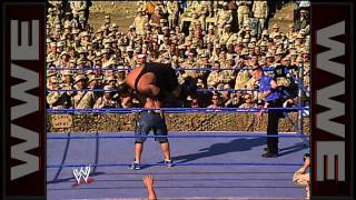 John Cena vs. Big Show: Tribute to the Troops 2003