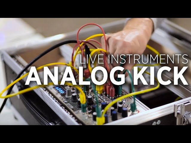 Making An Analog Kick With Modular Synths - DJ TechTools