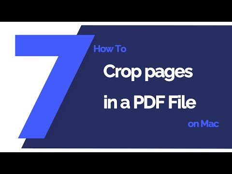How To Crop Pages In A PDF File On Mac | PDFelement 7