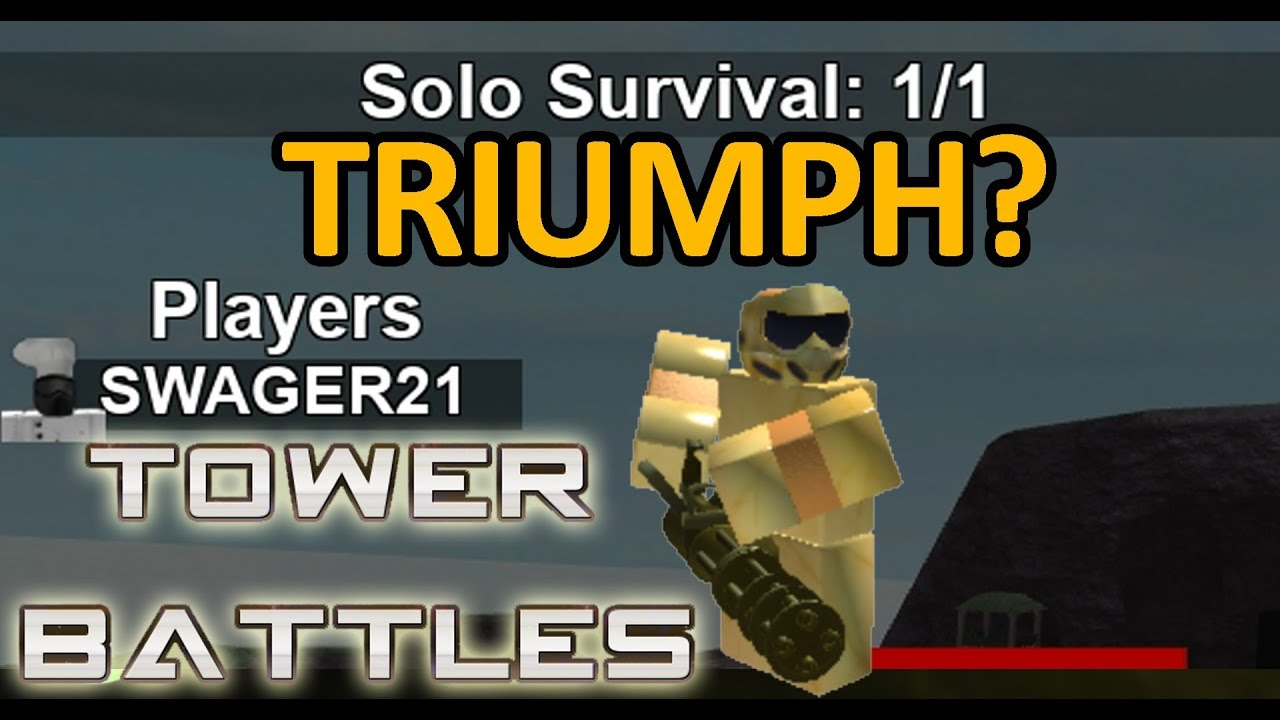 Solo Triumph With Golden Commando Tower Battles Youtube
