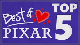 TOP 5 Najlepszych Filmów Pixara