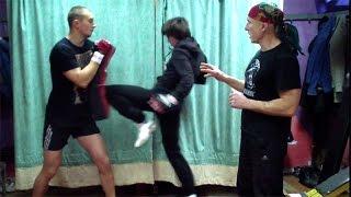 Тренировка выносливости. Тайский бокс, урок 18