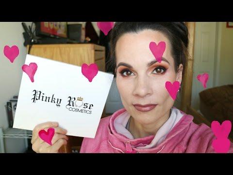 GRWM & PINKY ROSE COSMETICS!!!