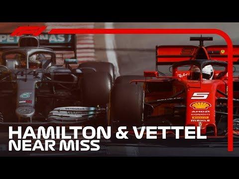 Hamilton And Vettel's Near Miss In Montreal | 2019 Canadian Grand Prix