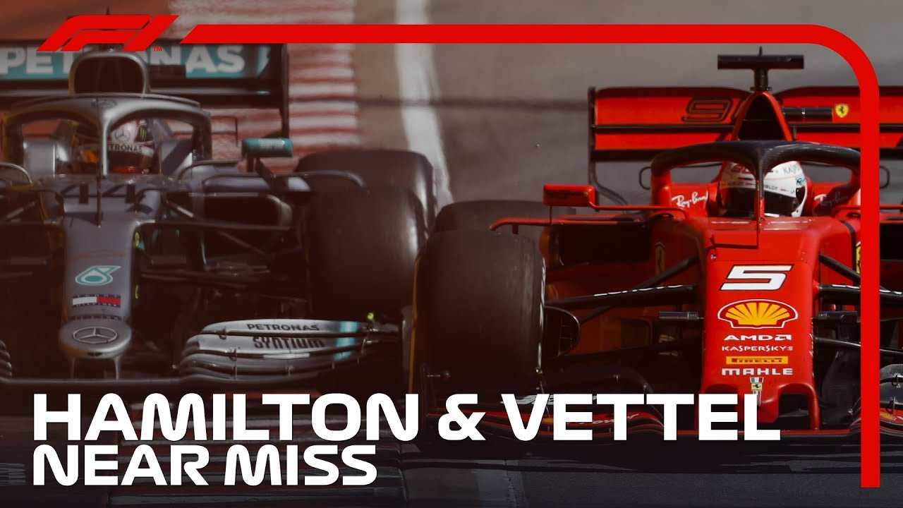Hamilton And Vettel's Near Miss In Montreal | 2019 Canadian Grand Prix image