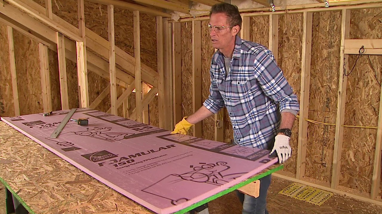 Insulation Installation Guide | FOAMULAR® XPS Insulation For Exterior Wall  Cavity