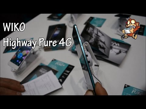 WIKO Highway Pure 4G - Hands On [MWC15]