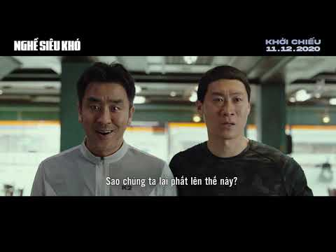 (Official Trailer) EXTREME JOB  NGHỀ SIÊU KHÓ   KC: 11.12.2020