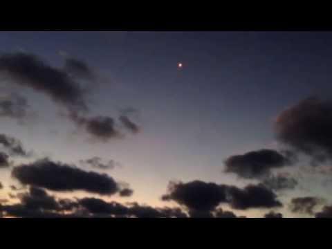 Как выглядит квадрокоптер в ночном небе