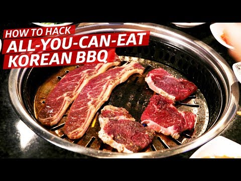How to Win at All-You-Can-Eat Korean Barbecue — K-Town