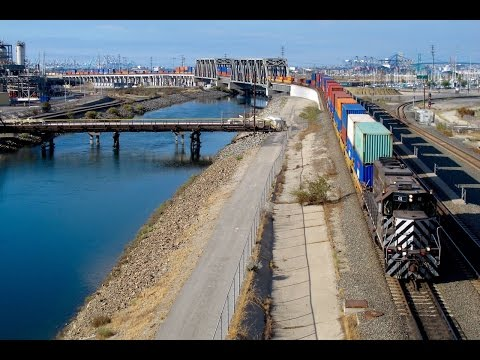 Pacific Harbor Line Train Action