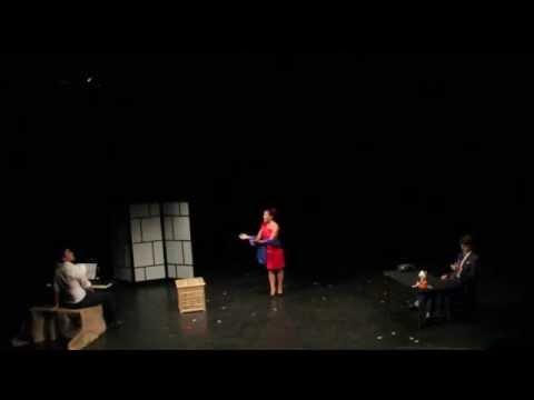 """Atalia Malin singing """"Da schlägt die Abschiedstunde"""" from Der Schauspieldirektor"""