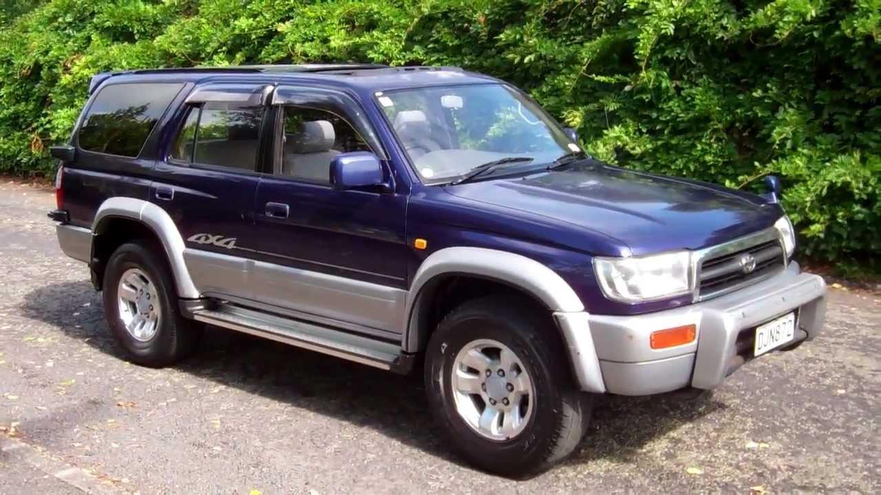 1996 Toyota Hilux Surf Ssr X 1 Reserve Cash4cars
