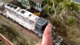 Runaway train 1985 HO Locomotives