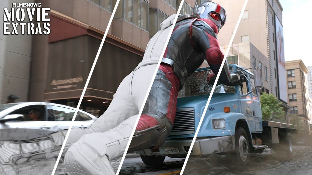 ANT-MAN AND THE WASP | VFX Breakdown by DNEG (2018)