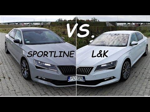 2019 SKODA SUPERB Sportline Vs. Laurin&Klement / TEST PL