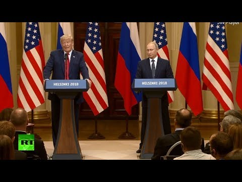 Putin-Trump meeting in Helsinki: News conference following summit