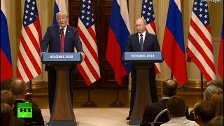 Putin-Trump meeting in Helsinki: News conference following summit thumbnail