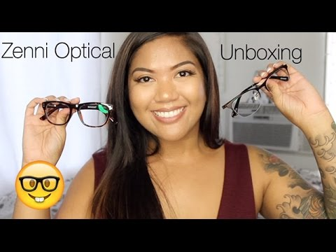 ff3647ad5cb4b Zenni Optical Unboxing Review - YouTube