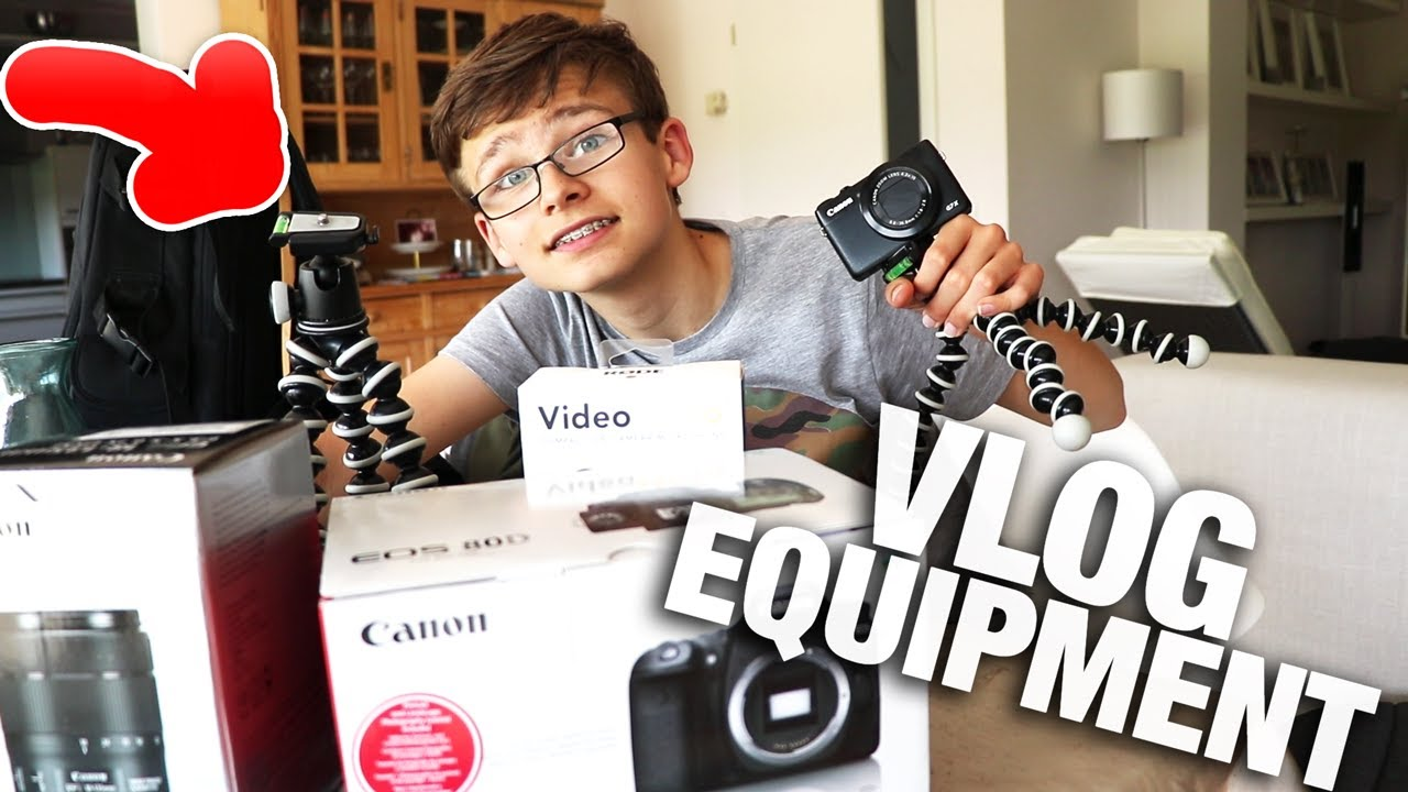 das perfekte kamera vlog equipment youtube. Black Bedroom Furniture Sets. Home Design Ideas