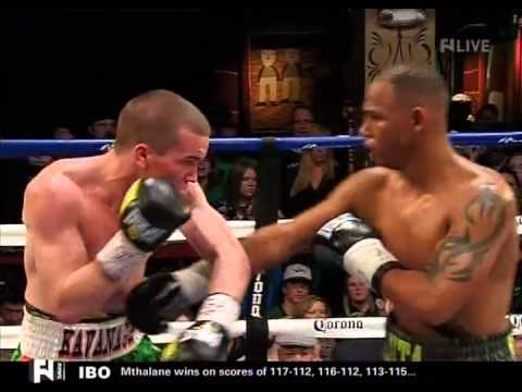Jamie Kavanagh vs Andres Navarro