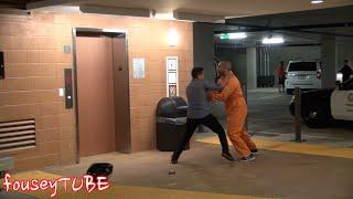ESCAPED PRISONER PRANK!