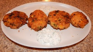 Salmon Patties Recipe - How To Make Salmon Croquettes