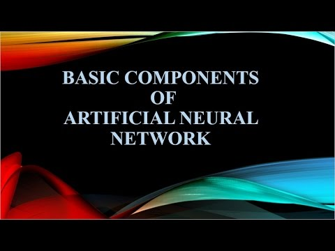 Basic Components of Artificial Neural Network [Hindi]