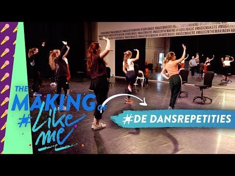 The making of #LikeMe   Zo gaan de dansrepetities eraan toe