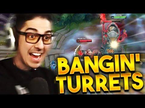 WE BANGING ON TURRETS WITH EL TRUNDEL - Trick2g