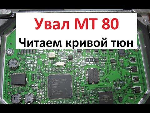 Увал MT80 || Шаг 1й Читаем кривую прошивку || Работаем программатором Ktag (Катаг) ||