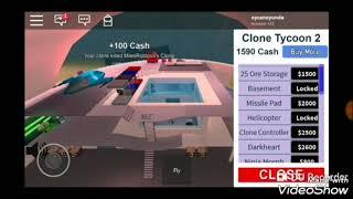 Noob vs pro | efsane gameplay | roblox | clone tycoon |