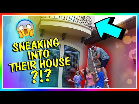 WE SNEAK INTO A YOUTUBER'S HOUSE! | We Are The Davises