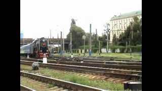 Ретро-паровоз Л-3055(На время проведения Евро-2012, в Киеве появилась возможность совершить экскурсионную поездку на паровозе..., 2012-06-23T12:57:50.000Z)