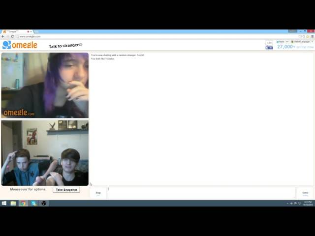 Omegle Video Ep1???