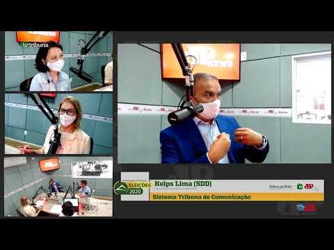 Assista entrevista com o candidato à Prefeitura de Natal, Kelps Lima (Solidariedade)