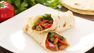 Sriracha Chicken Wrap Recipe