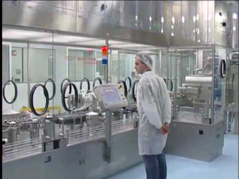 Bausch + Stroebel  pharmaceutical packaging machines for vials