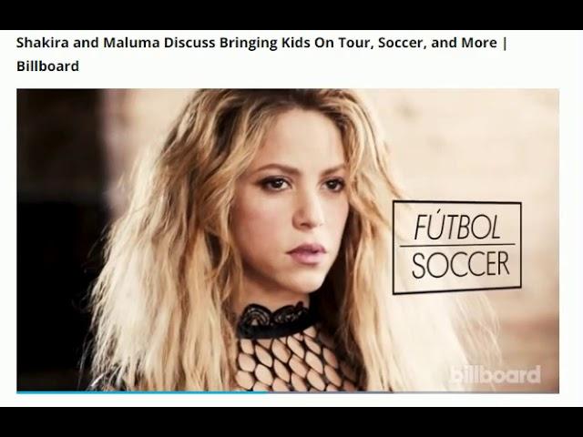 Shakira & Maluma bilboard 2018