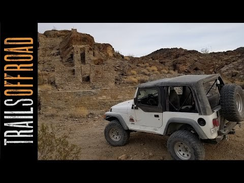 Red Cloud Mine Offroad And Mining Trail California In 4k UHD