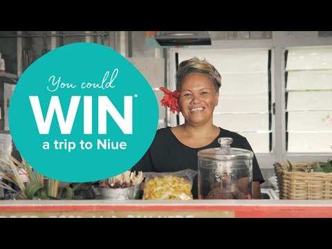 BE IN TO WIN A TRIP TO NIUE ISLAND!